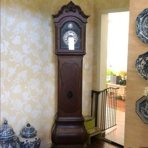 Ethan Allen Tuscan Floor Clock Grandfather Clock